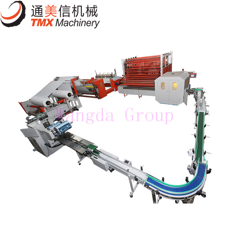 Full Automatic Toilet Paper Kitchen Towel Production Line