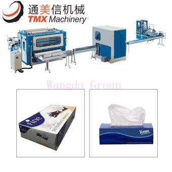 Fully Automatic Facial Tissue Production Line Box Packing