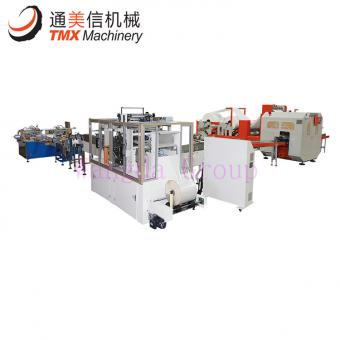 Fully Automatic Facial Tissue Production Line Nylon Packing